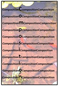 composition equals balance-DeHoff Arts- copy writes apply
